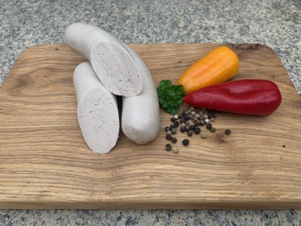 rustikale Bratwurst vom Mangalica Wollschwein